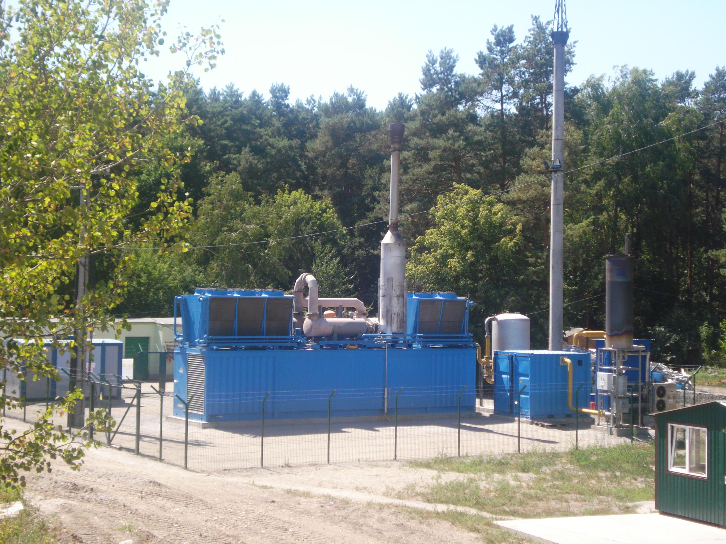 отримано зелений тариф для біогазової електростанції